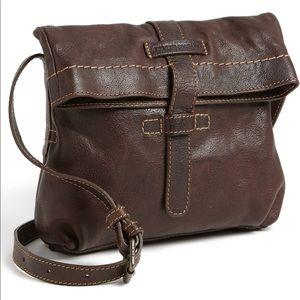 FRYE EUC Artisan Foldover' Leather Crossbody Bag
